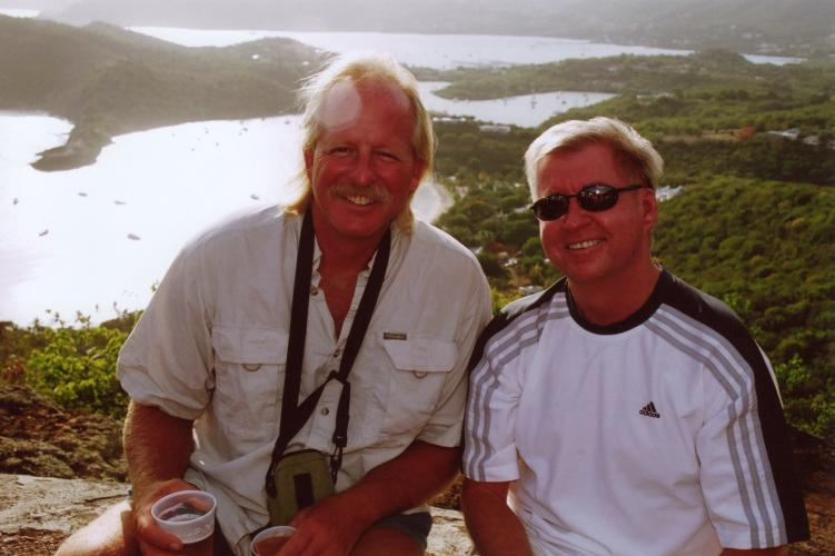 Curt and Matt Shirley Heights Antigua